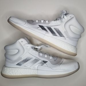 Adidas High Marquee Boost Basketball White 15 New
